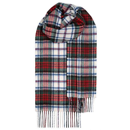 MACDUFF DRESS MODERN TARTAN LAMBSWOOL SCARF Made in Scotland