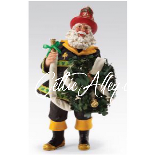 Bridgets To The Rescue Firefighter Santa By Possible Dreams Clothtique