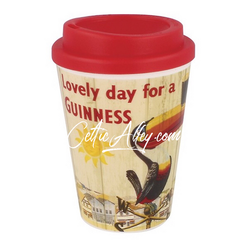 Guinness® Nostalgic Travel Mug - Toucan