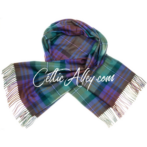 Tartan Stole In Isle of Skye