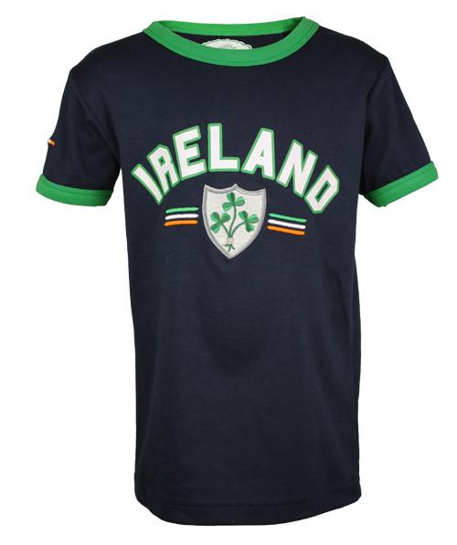 Kids First Ireland T-Shirt in Navy