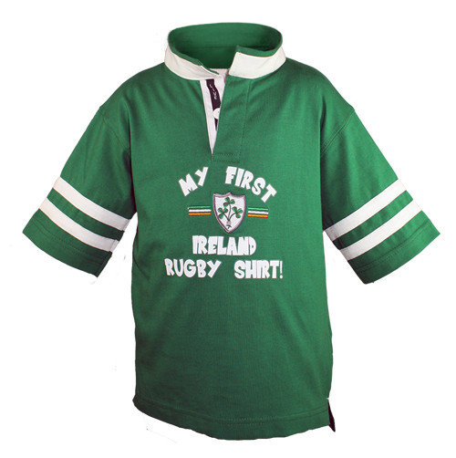 Kids First Rugby Shirt in Green