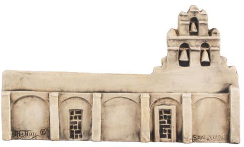"""San Juan Mission - San Antonio, USA 8"""" x 5"""""""