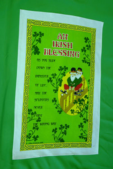 Bannister Irish Blessing Tea Towel