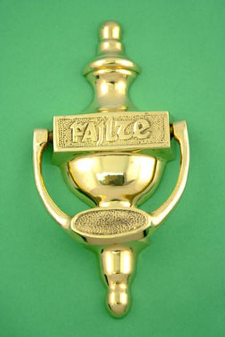 "Brass ""Failte"" Door Knocker"