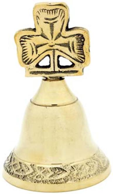 Brass Bell Shamrock Small