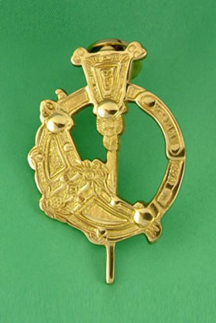 Brass Doorknocker Tara Brooch