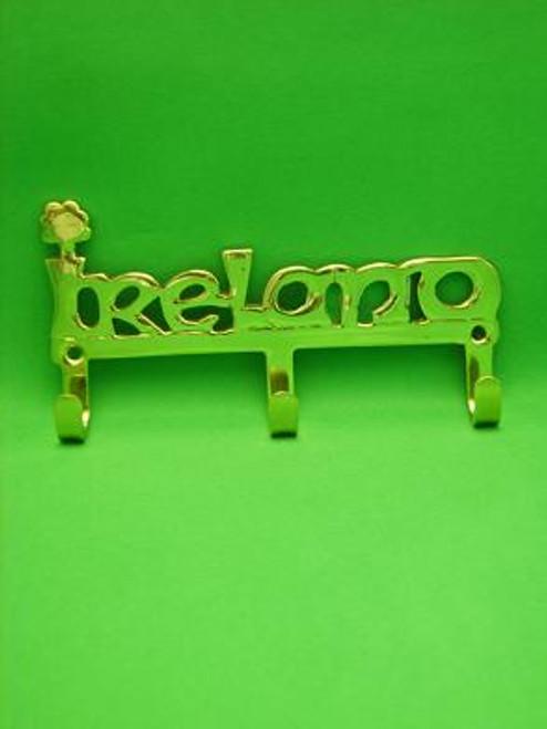 Brass Keyrack IRELAND Small