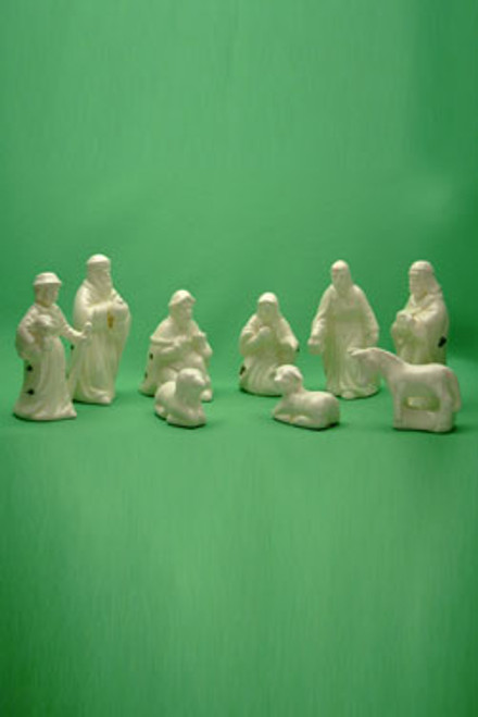 Nativity Set Fine Bone China 9pc set