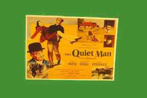 Quiet Man Lobby Poster Postcard