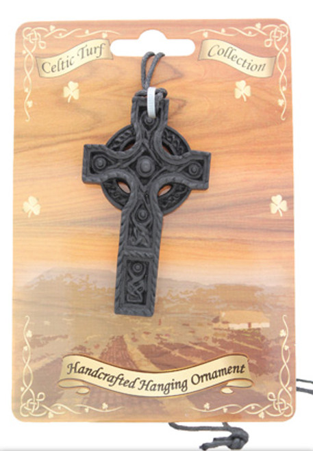 Turf Necklace - Celtic Cross with 5 Studs