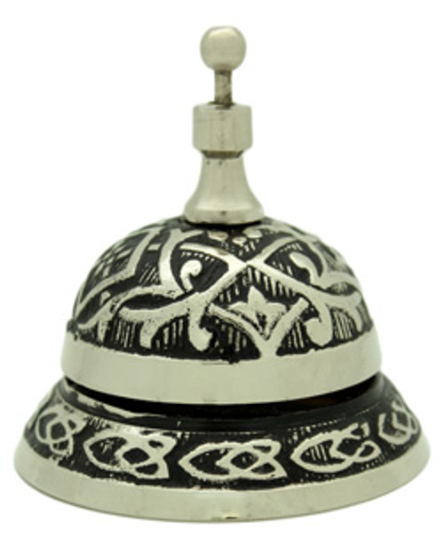 White Metal Desk Bell