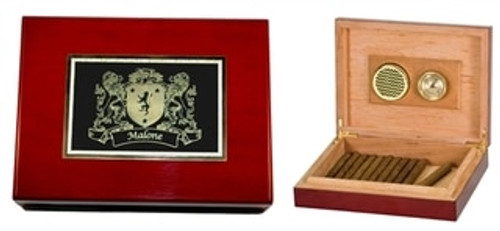 Irish Coat of Arms Humidor