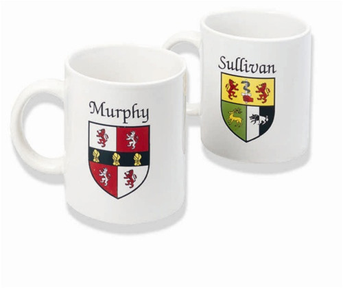 Irish Coat of Arms Mugs - (Set of 2 mugs)