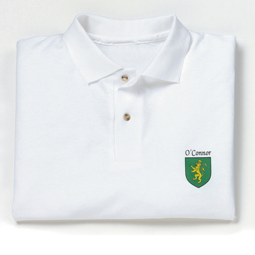 Irish Coat of Arms Polo Sport Shirt
