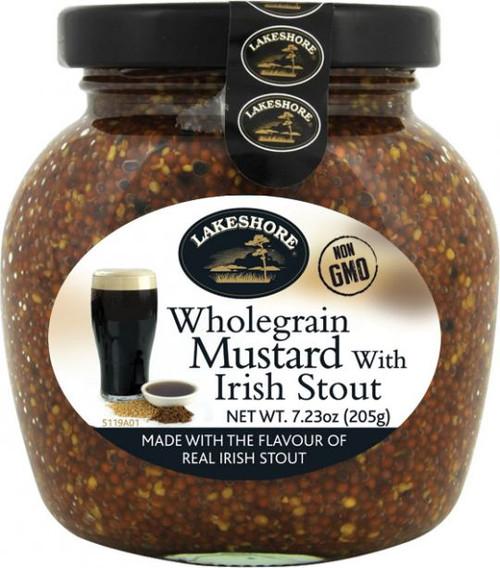 Lakeshore IRISH STOUT Mustard 205g (7.2oz)