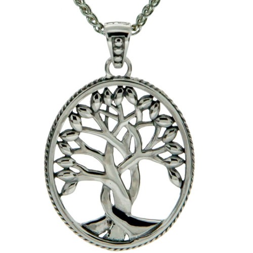 S/sil TREE OF LIFE Pendant By KEITH JACK