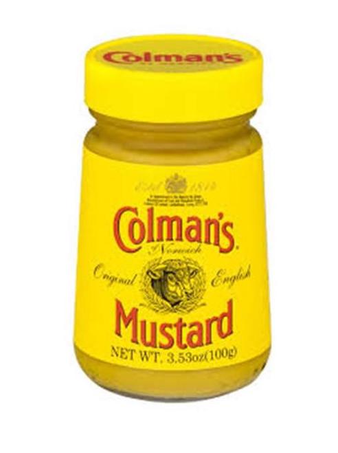 Colmans Mustard wet / paste 100g