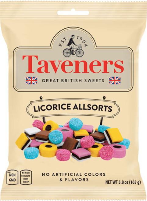 Taveners Liquorice Allsorts 165g (5.8oz)
