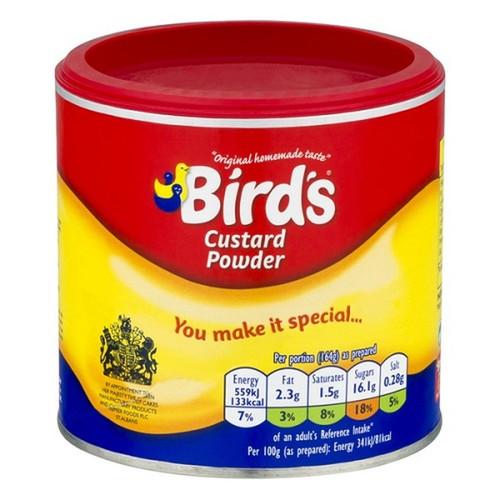 Birds Custard Powder, Drum