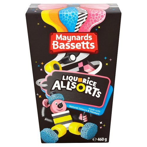 Bassetts Liqourice Allsorts Carton 400g