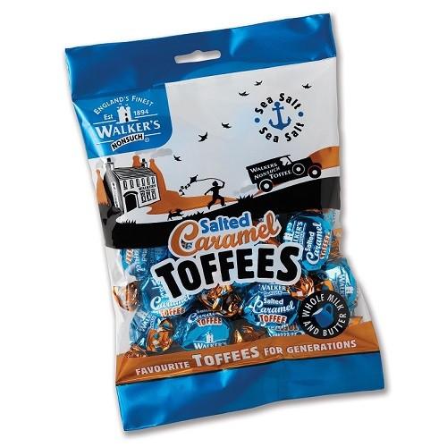 Walkers Salted Caramel Toffees 150g bags