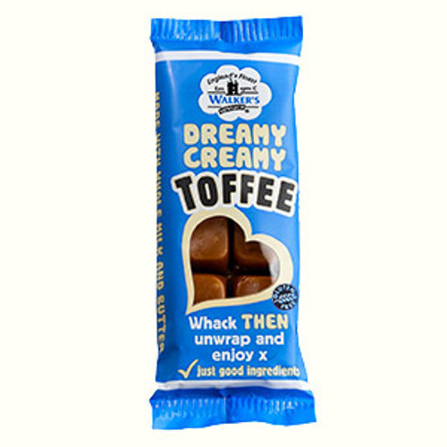 Walkers Creamy Toffee Original 50g bar