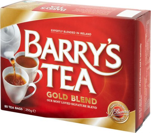 Barrys Gold Blend Tea 80ct 250g 8.8oz