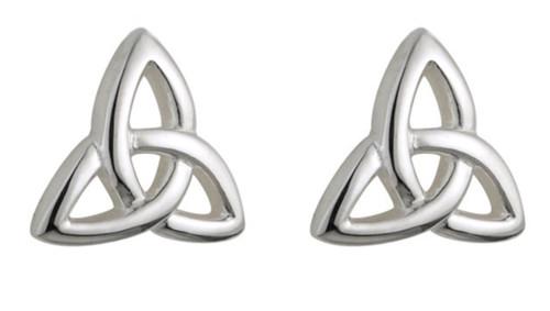 Kids Sterling Silver Trinity Knot Stud Earrings S33195