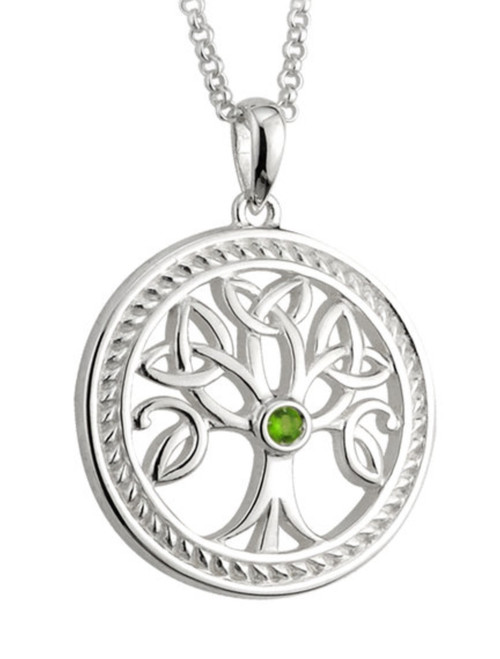 Sterling Silver Tree o'Life Pendant S44684