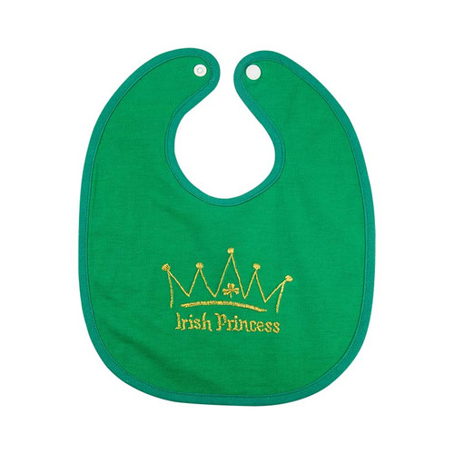 Irish Princess Bib BOE184 By Bridget's of Erin