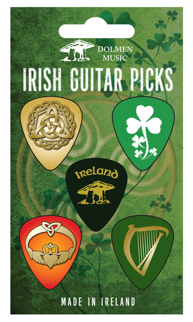 Traditional Irish Guitar Picks - Pack of 5 MUSGP1
