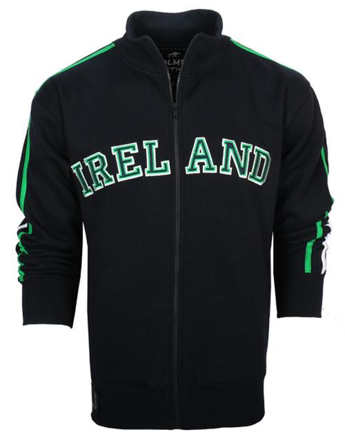 Ireland Full Zip Retro Jacket in Navy BJIEN-NAVY