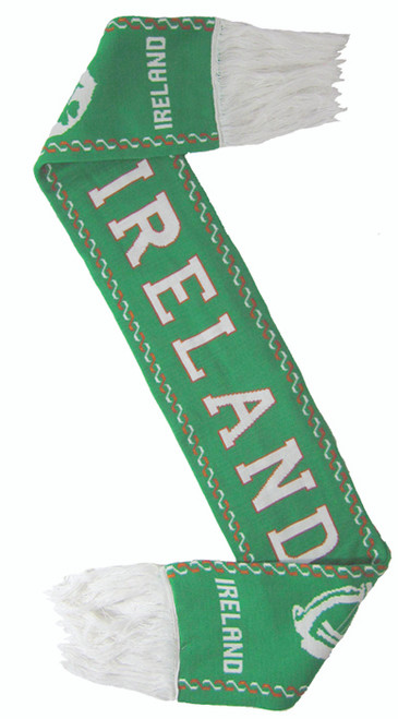 Ireland Soccer Scarf in Kelly Green (ONE SIZE) SCIRE-KELLY