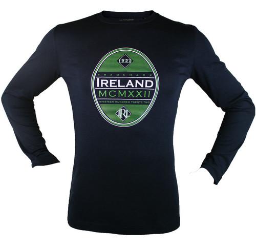 Ireland 1922 Oval Long-Sleeved Ultimatee in Black TSOUL-BLACK