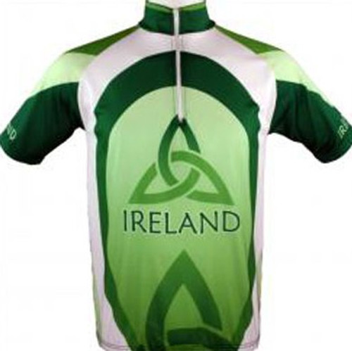 Ireland Cycling Jersey in Green ICJ-GREEN