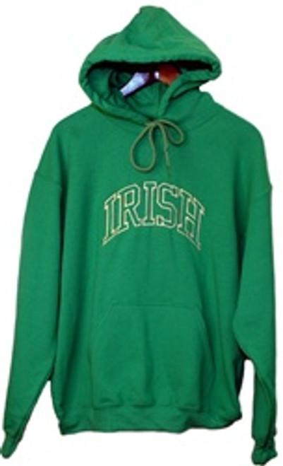 Irish Arc Hoodie in Kelly Green