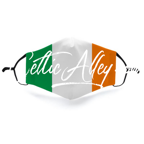 Irish tri color mask