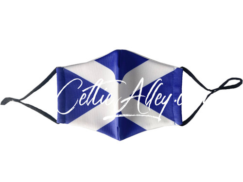 ReUsable Enviro Face Mask Scottish Flag St. Andrews Saltire