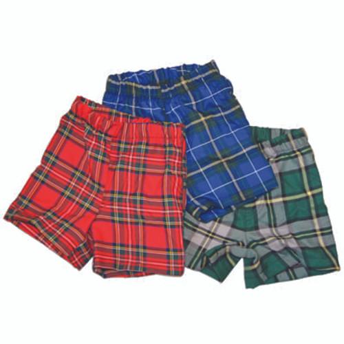 Kids Tartan Shorts
