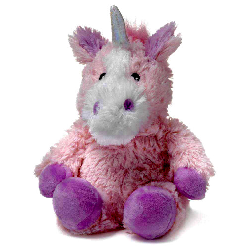 """Large 13"""" Plush Unicorn  Warmies® With Real Lavender"""