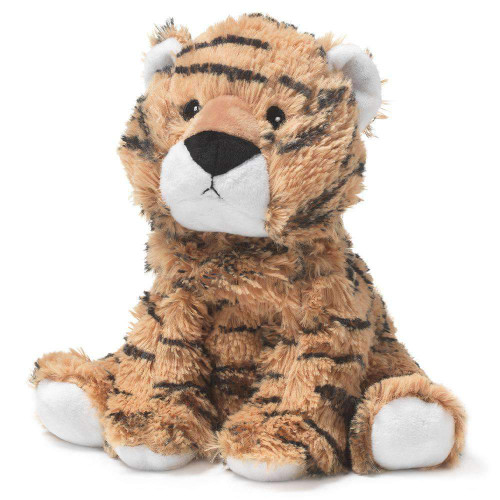 "Large 13"" Plush Tiger  Warmies® With Real Lavender"