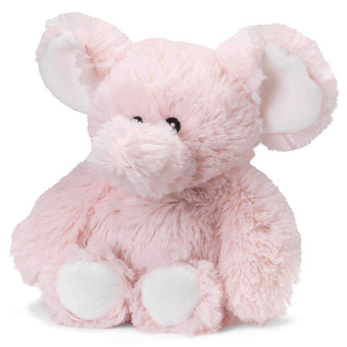 "Large 13"" Plush Pink Elephant  Warmies® With Real Lavender"