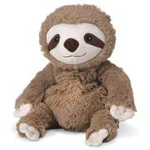 "Large 13"" Plush Sloth  Warmies® With Real Lavender"