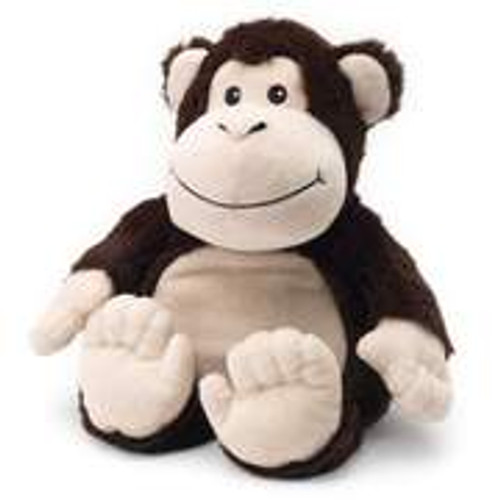 "Large 13"" Plush Monkey  Warmies® With Real Lavender"