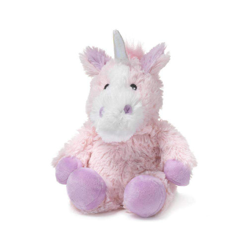 "Junior 9"" Plush Pink Unicon  Warmies® With Real Lavender"