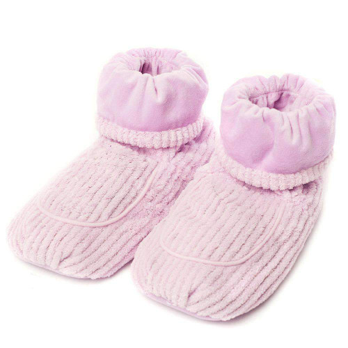 Lavender  Warmies® Spa Therpy Boots  With Real Lavender
