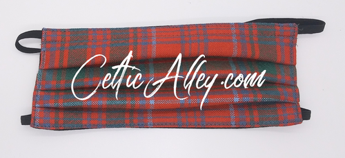 Official Tartan Plaid Face Mask In   Grant Ancient HandMade In Scotland