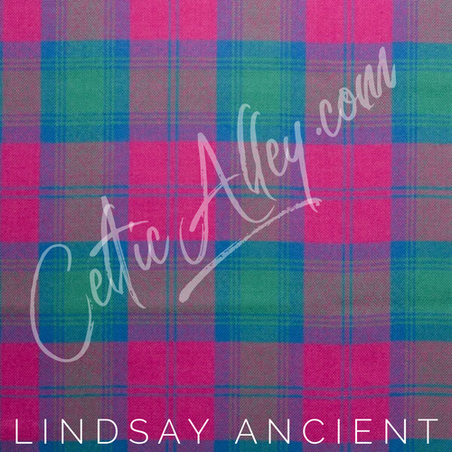 Official Tartan Plaid Face Mask In Lindsay Ancient HandMade In Scotland