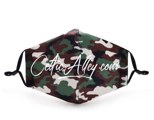 ReUsable and Adjustable Camouflage Printed Face Mask